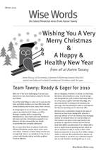2009 Winter Wise Words Newsletter