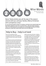 2013 Winter Wise Words Newsletter