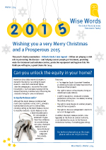 2014 Winter Wise Words Newsletter