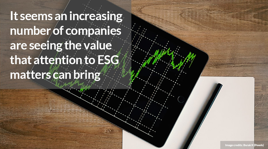 ESG on the business agenda